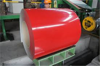 China 0.12-0.3mm Overthin Color Coating Steel For Roofing Tile Safety and Fast construction supplier