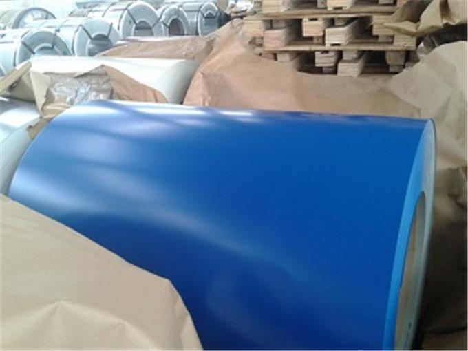 Pre-Painted Galvalume Steel Al 55% PPGL Coil  CGLCC thickness 0.13-1.6 mm