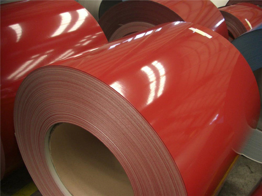 Akzonobel Paint Color Coated Steel Coil  , Prepainted Galvalume Steel Coil