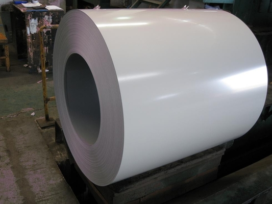 1250MM Ral 9006 Prepainted Galvanized Steel Coil For Corrugated Plate Overlay Film