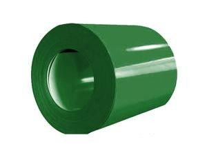 EN10147 Grass Green PPGI Steel Coil For Decorate , Colour Coated Coils