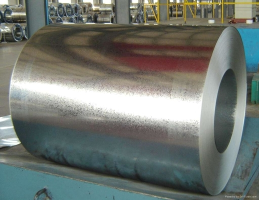 Regular spangles hot dip Galvanized steel 0.12-3.0 mm for construction and machine