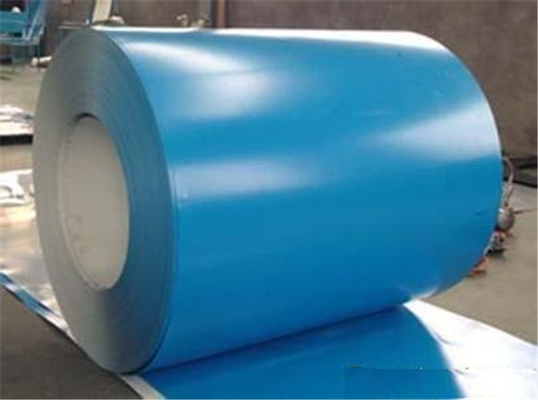 Clean Room Color Coated Steel Coil 0.4 - 0.8 Mm Thickness Pre Painted Steel Coil